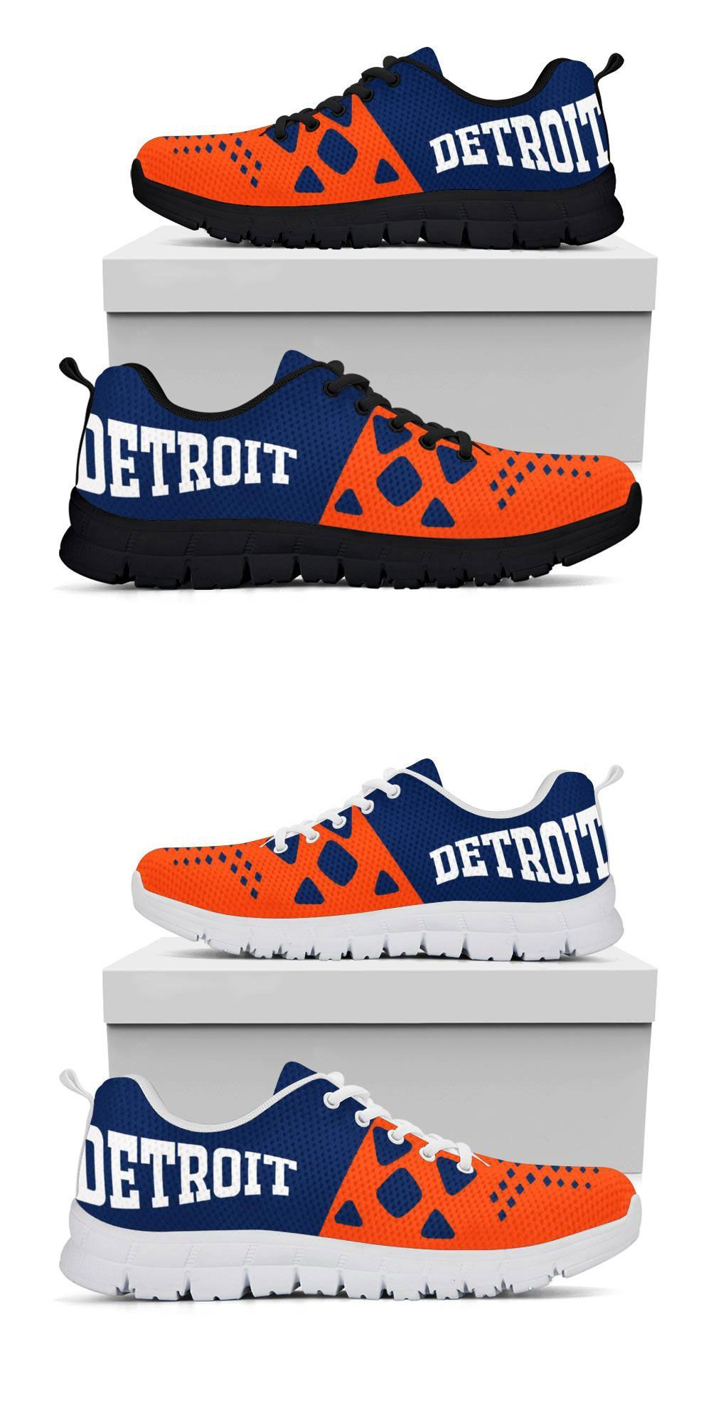 Detroit Tigers Colors Running Shoes Sport The Detroit Tigers Colors While You Train To Take On The World In The Gym O Running Shoes Detroit Tigers Detroit