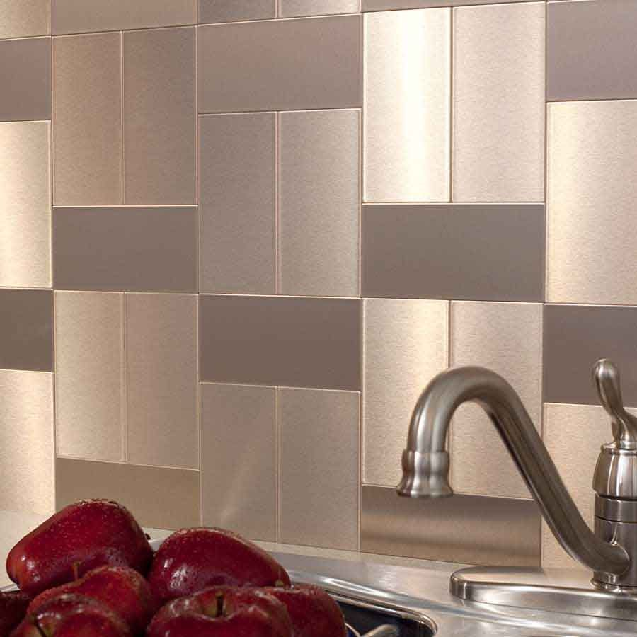 Faux Tin Kitchen Backsplash Tips Build Interior Designs Modern Ideas Metal Tile Options Effigy