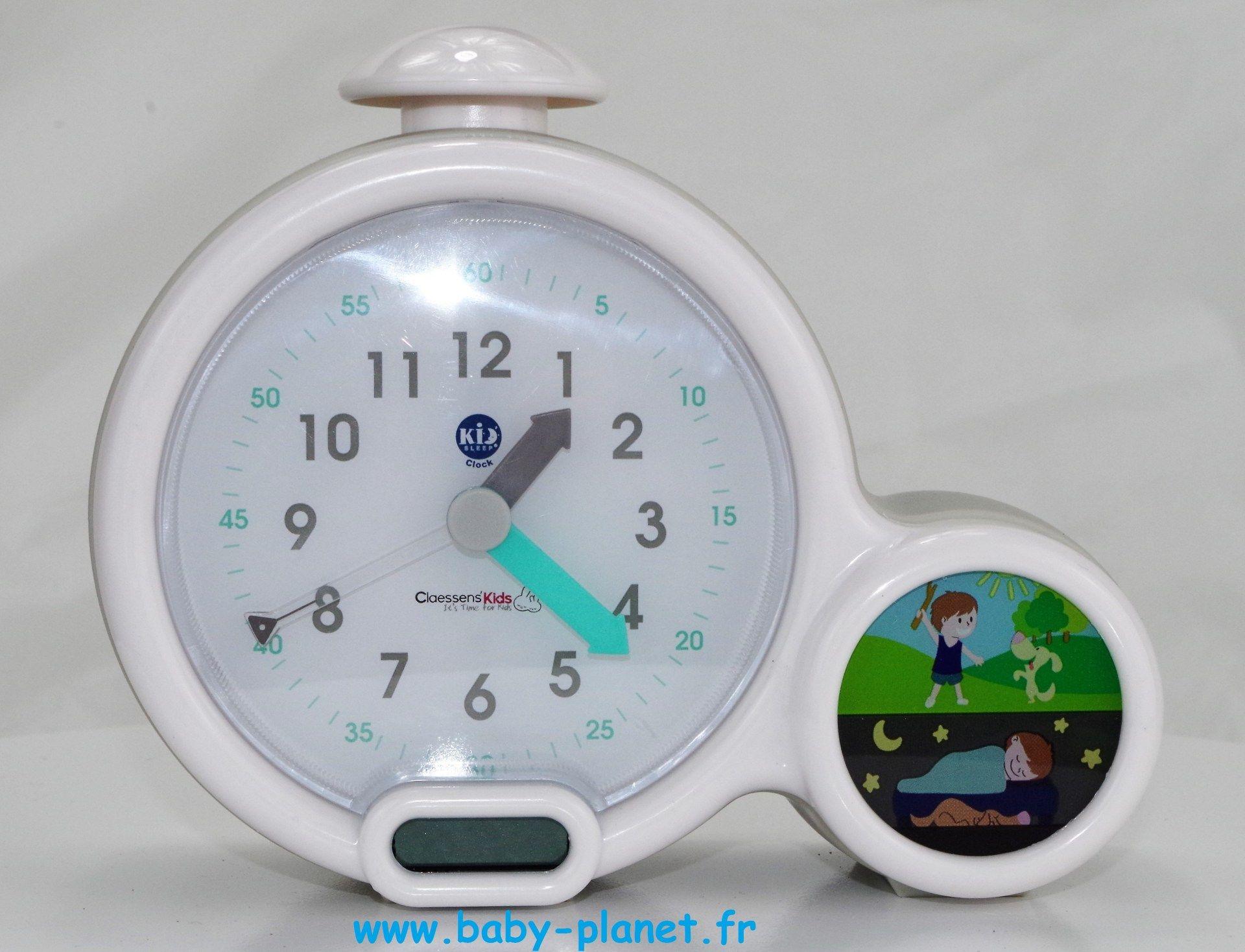 Test : Mon premier réveil Kid Sleep Clock _ Claessens' Kid