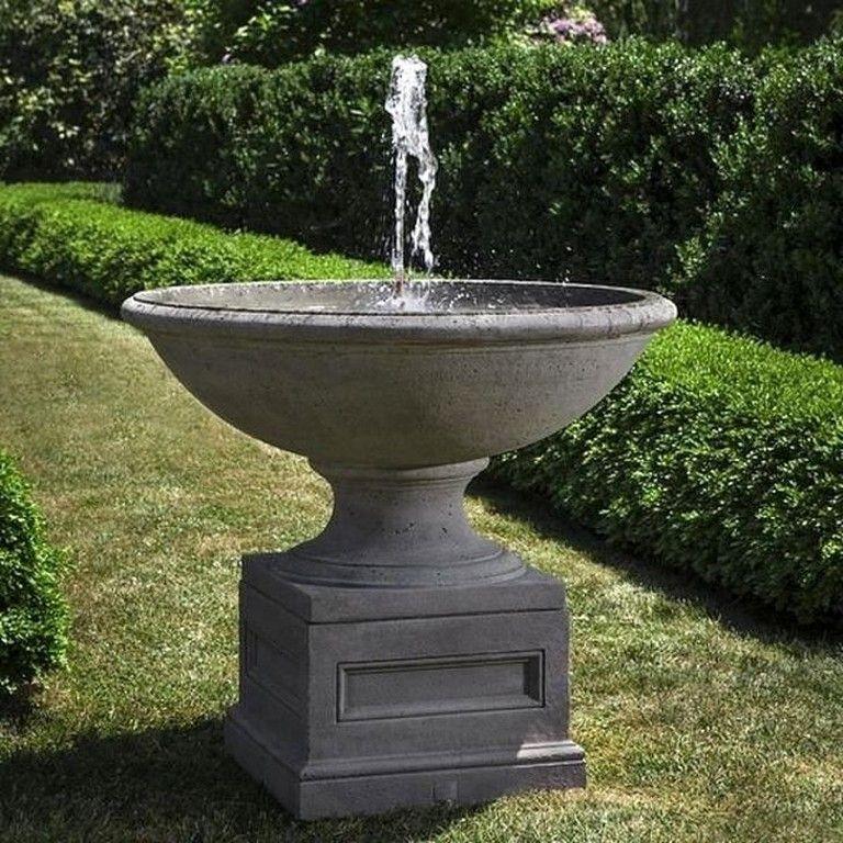 48 Impresive Outdoor Water Fountains Ideas For Garden Landscaping Page 40 Of 41 Stone Fountains Fountains Outdoor Concrete Garden