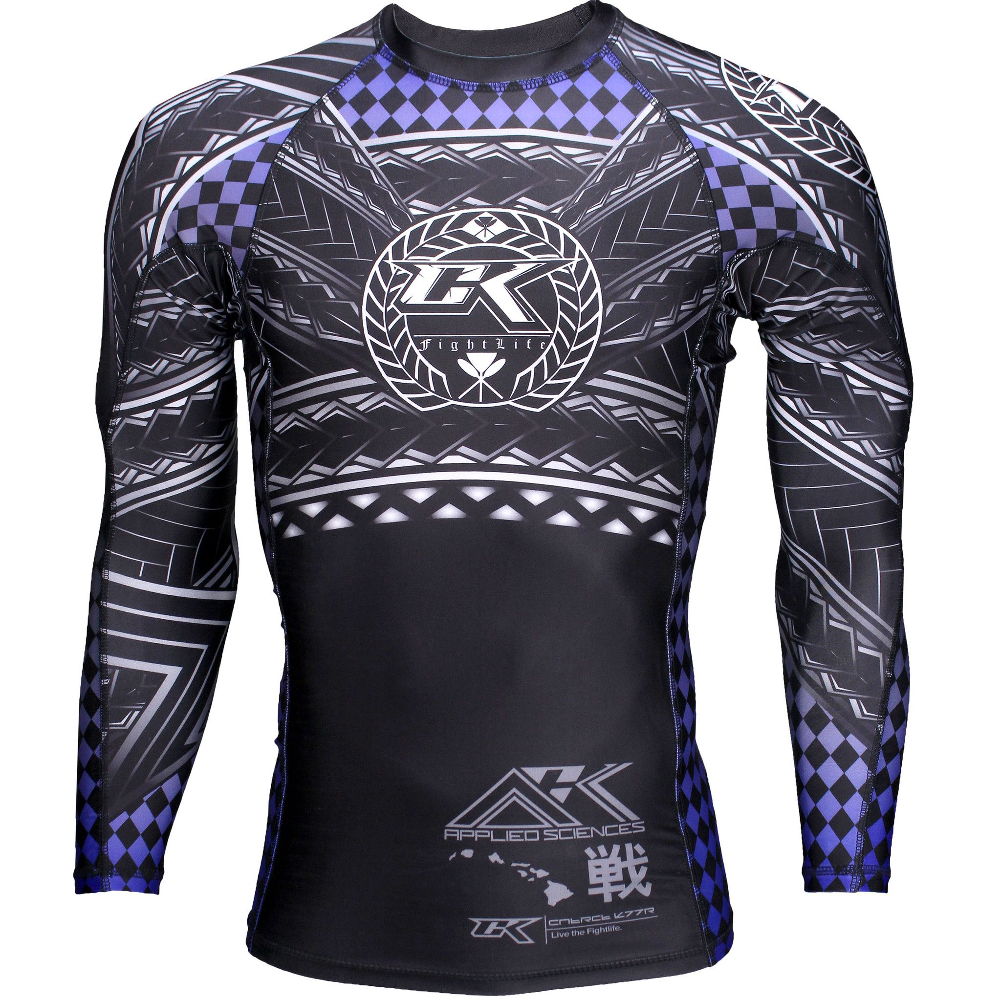 Raven Fightwear Men/'s Horsemen of the Apocalypse War Samurai Rash Guard