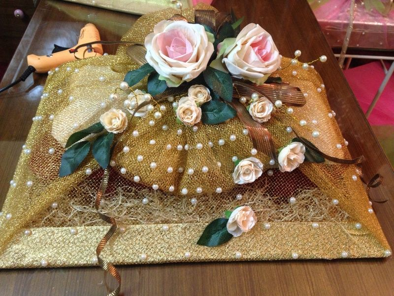 Baskets wrap with inayat indian wedding gifts