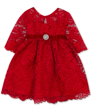 6 month Lacy Red Dress