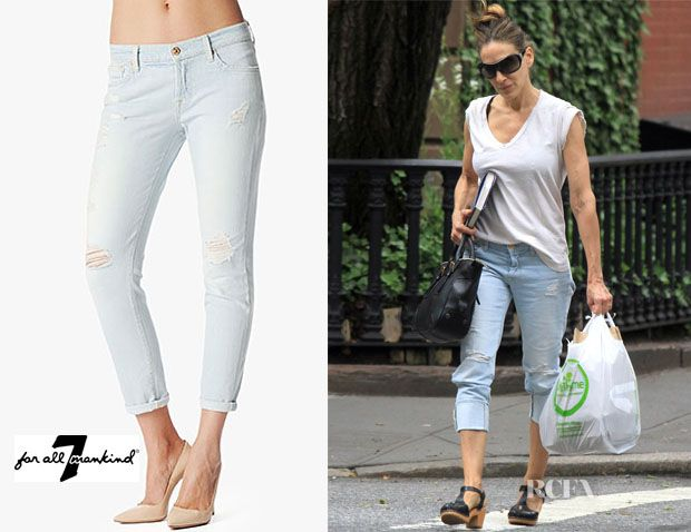 Fashion Trends Sarah Jessica Parker S 7 For All Mankind Josefina