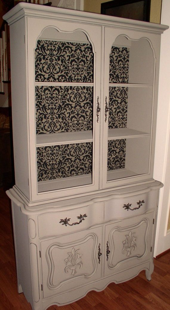 French Country Cabinets | Small French Country China Cabinet By Tsfunder On  Etsy, .