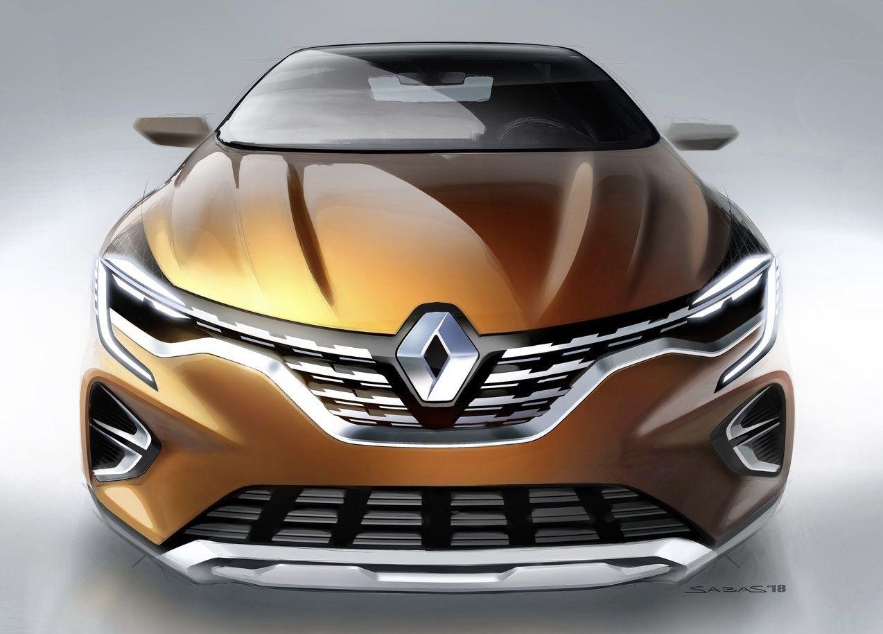Renault Captur 2020 Cardesign Designsketch Renault Captur