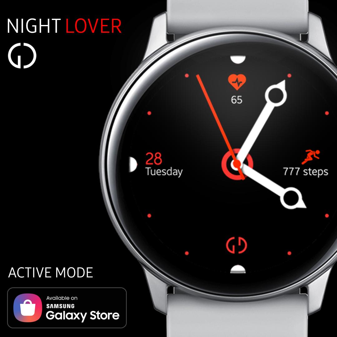 Watch face for Samsung Gear S3 / Gear Sports / Galaxy
