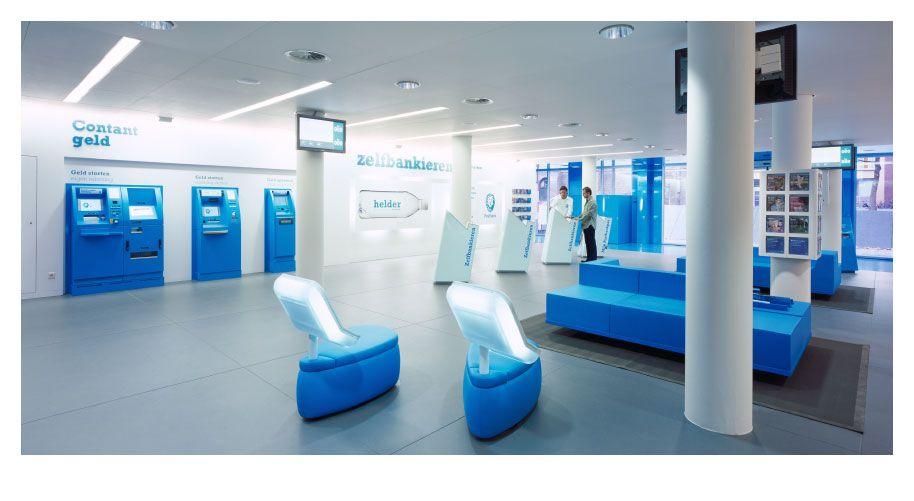 Postbank Dietwee Bank Interior Design Bank Design Banks Office