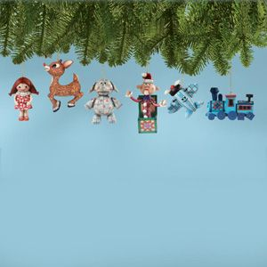 Rudolph And Misfit Toys Ornaments 4008832 Rudolph And Friends