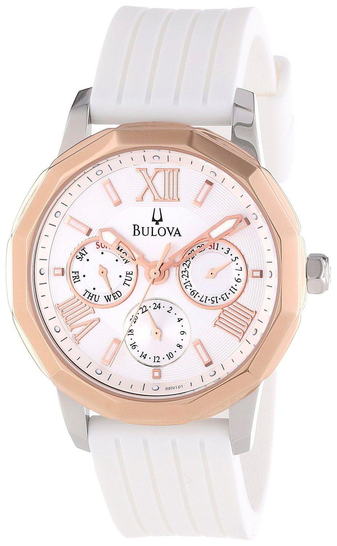 0cea582fe049 Reloj Bulova para Mujer de Acero Inoxidable