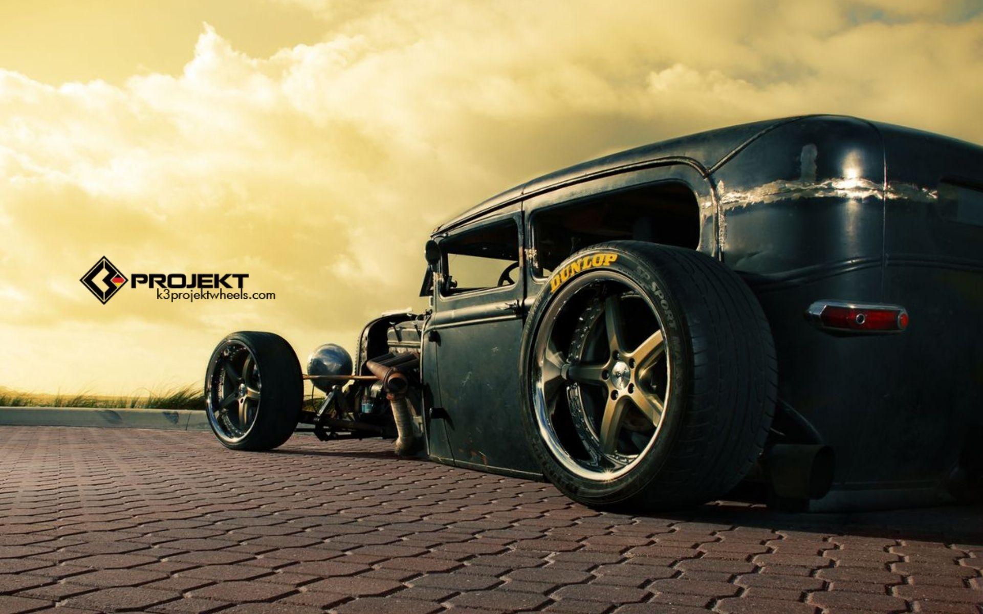 1931 K3 Projekt Ford Model Rat Rod Hot Rods Retro Wheel Wheels ...