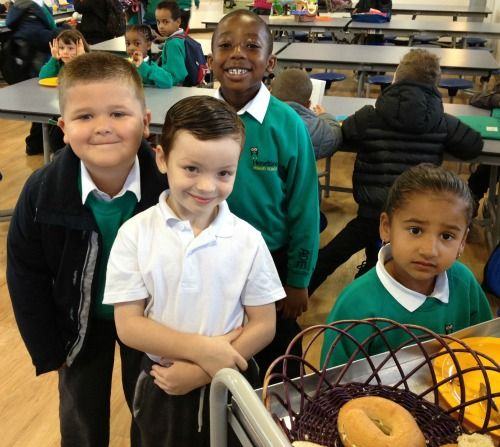 Magic Breakfast at Haseltine Primary