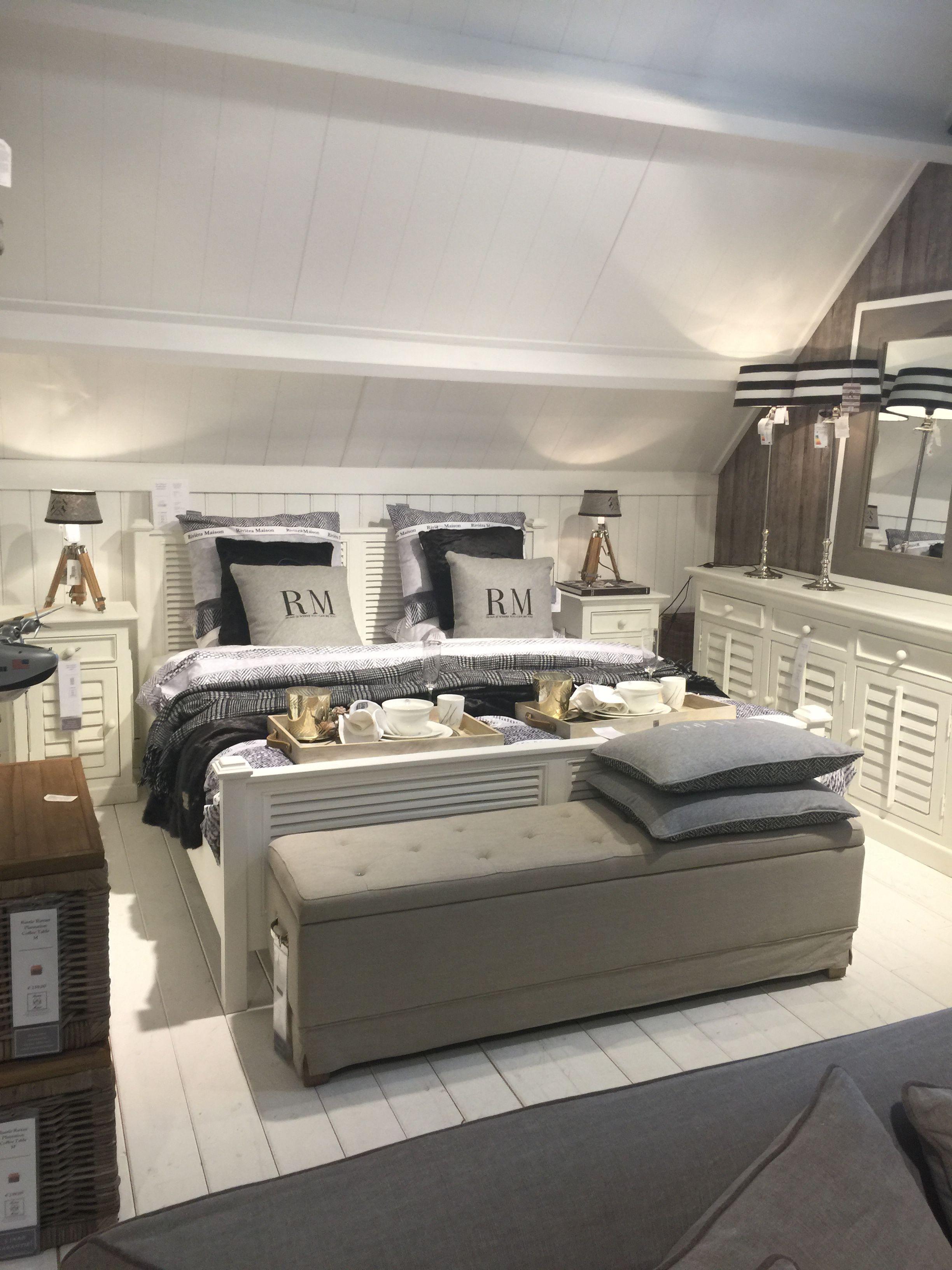 pin von andzelika auf riviera maison pinterest schlafzimmer wohnkultur ideen und maritim. Black Bedroom Furniture Sets. Home Design Ideas