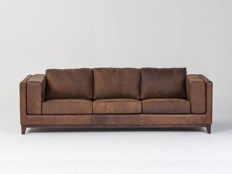 Pacific Sofa Price R 17 Specs Size Wide Pictured In Weathered Zambezi Copper Leather Please Note That The Above Is For Product