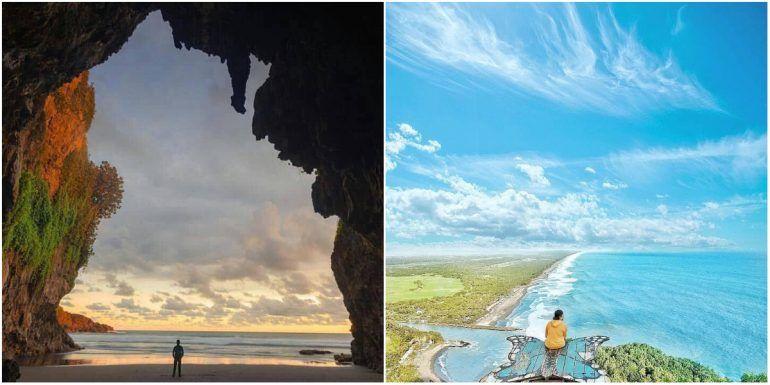 16 Tempat Wisata Alam Di Pulau Jawa In 2020 Travel Indonesian Painting