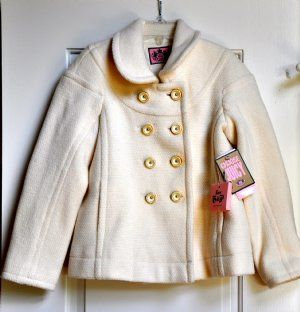 Juicy Couture PeacoatWow a stunning piece for your little ones wordrobe!Girls Sizes 7 to 12