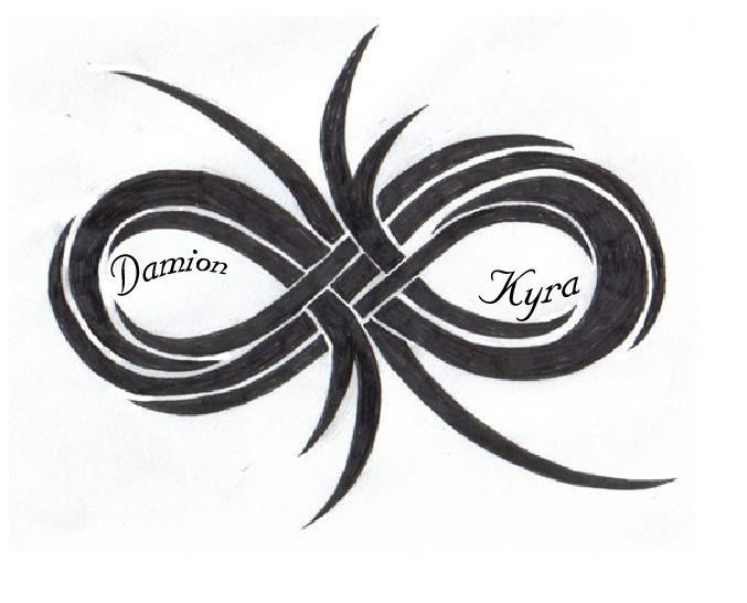 Double Infinity Symbol Tattoo Ideas Powerful Intentions