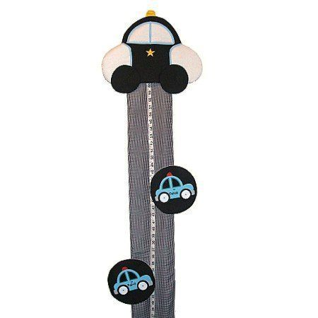Police Car Personalized Fabric Growth Chart by Fun Rooms For Kids, http://www.amazon.com/dp/B00B87P1G2/ref=cm_sw_r_pi_dp_zYeRrb1NMYK2X