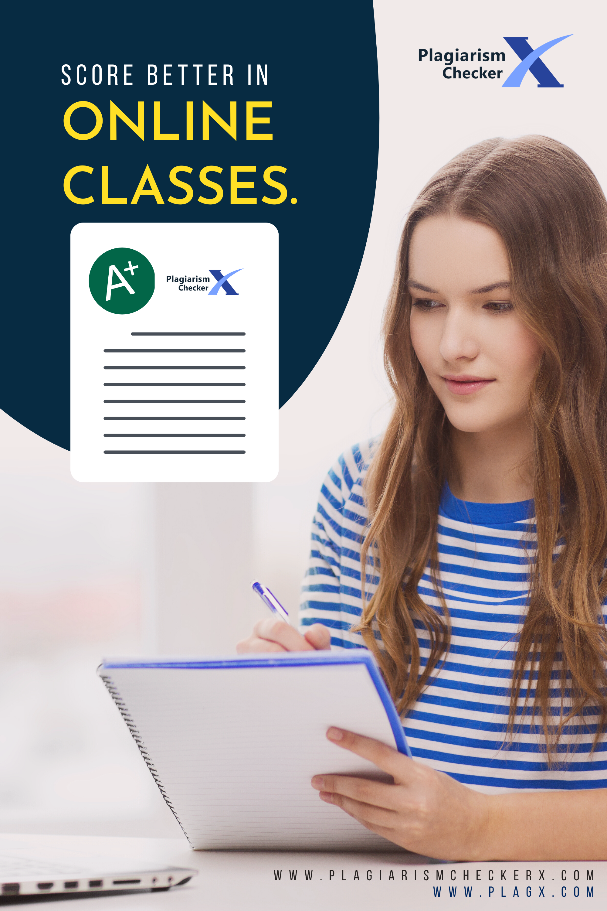 """Plagiarism Checker X helps you score better than before. Easily analyze homeworks & assignments for plagiarism before submission. No Word-Limit or Per-Page Restrictions for similarity checking. """"One-Time-Payment for Lifetime"""" makes it an ideal academic investment for the students. Try the Free Version to check how it can suit your requirements. #Students #Onlineclass #onlinelearning #Plagiarism #Detection #Software"""