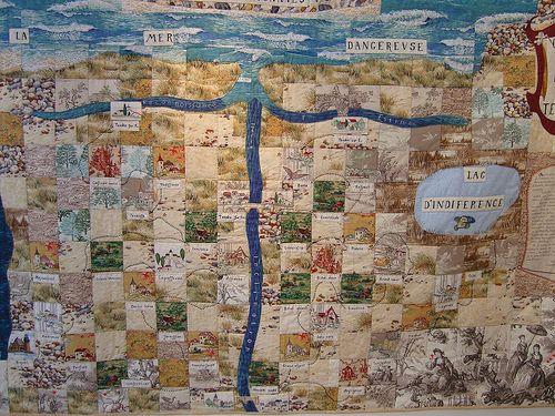 Limoges Carte Du Tendre Quilt Quilts