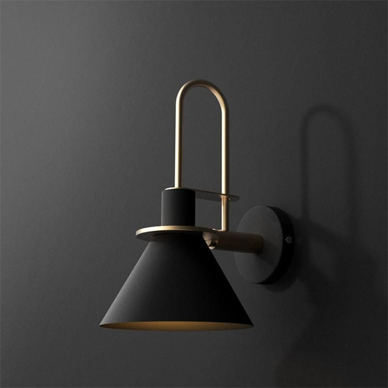 Oklak Nordic Wall Light Black Industrial Wall Lights Wall Lights Bedroom Industrial Light Fixtures