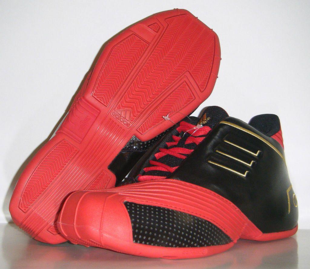 dc62d4aff430 adidas TMAC 1 – Black Red Gold