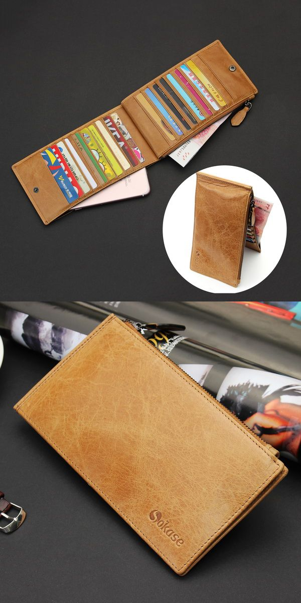Multi Card Slot,Manage your cards, cash and phone well.  High quality leather,good touching feel. It is convenient for dairy use. Makes a great gift for fans, Valentines day, birthday, father's day,brothers, friends.
