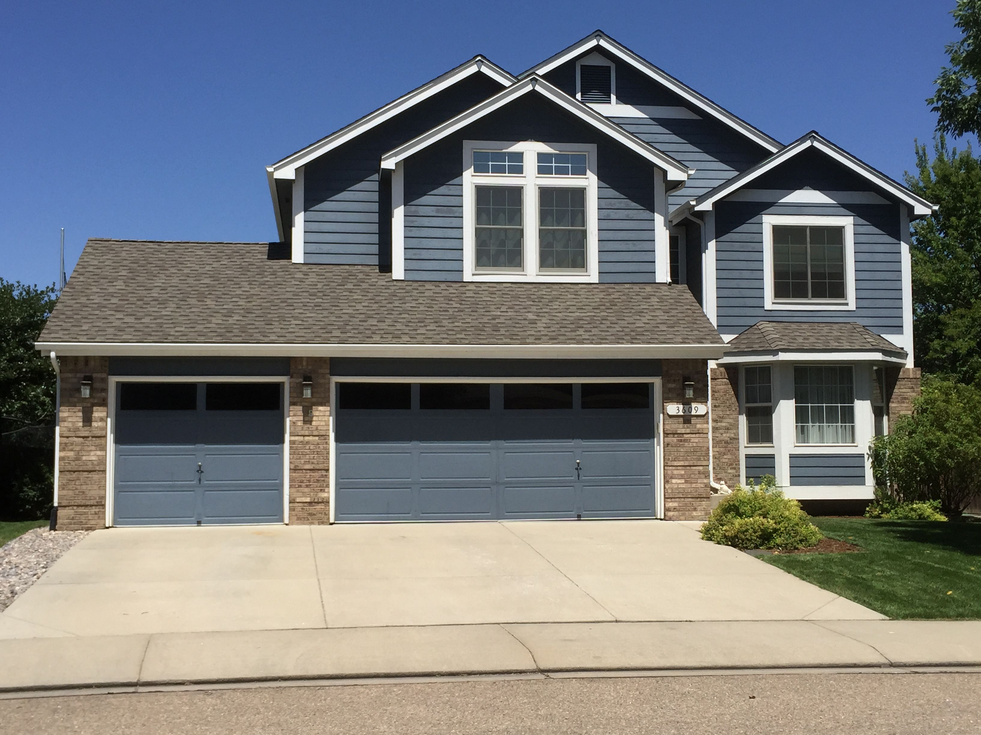 We Installed Weathered Wood Shingles From The Gaf Timberline Hd Shingle Line On This House In Longmont Weathered Wood Wood Shingles Shingling