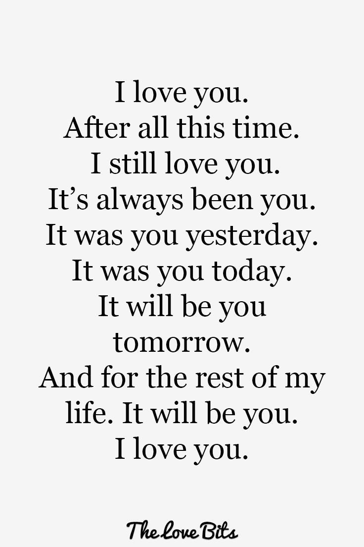 50 Swoon-Worthy I Love You Quotes to Express How You Feel - TheLoveBits |  Love yourself quotes, Love quotes for him romantic, Be yourself quotes