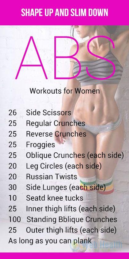 slim down abs fast