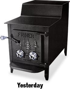 Fisher Stove   My Wood Stove Is So Much More Practical Than A Fireplace  Sucking The