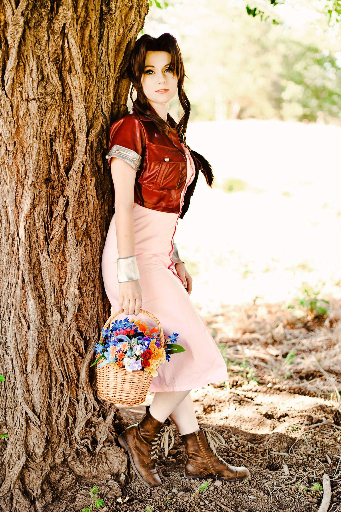 Character Aerith Gainsborough From Square Enixs Final Fantasy