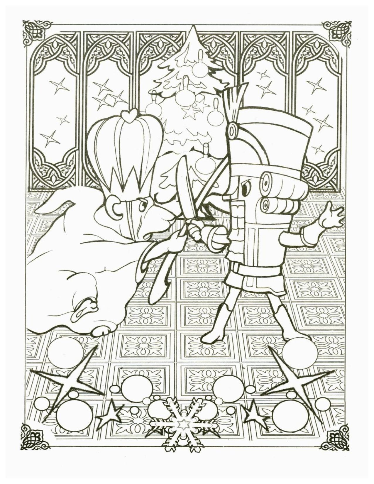 sugar plum fairies coloring pages - photo#9