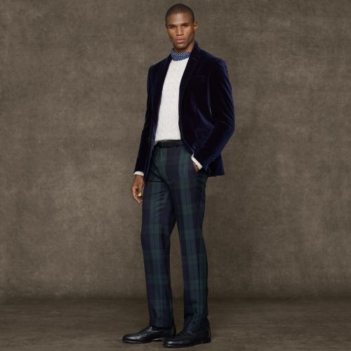 Polo Ralph Lauren Custom-Fit Velvet Sport Coat | Menswear ...