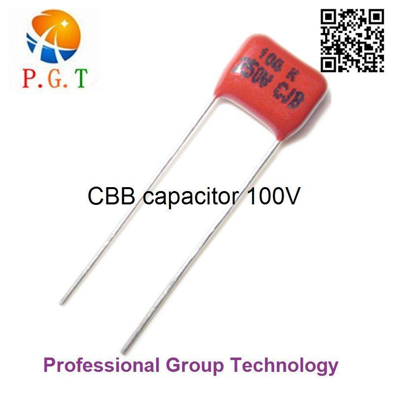10pcs Lot 250v 0 1uf 100nf 104j Pitch 8mm 250v 5 Dip Cbb Polypropylene Film Capacitor Pitch Dips Capacitors