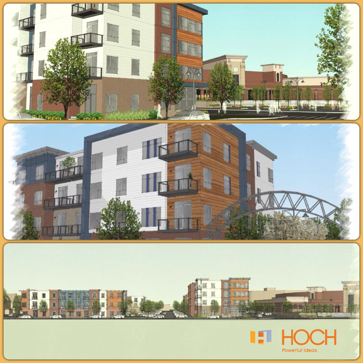 HOCH Concept Design For Urban Housing In Downtown Fort