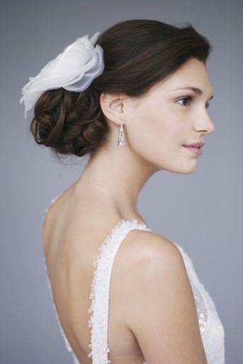 Wedding Hairstyles Low Side Bun