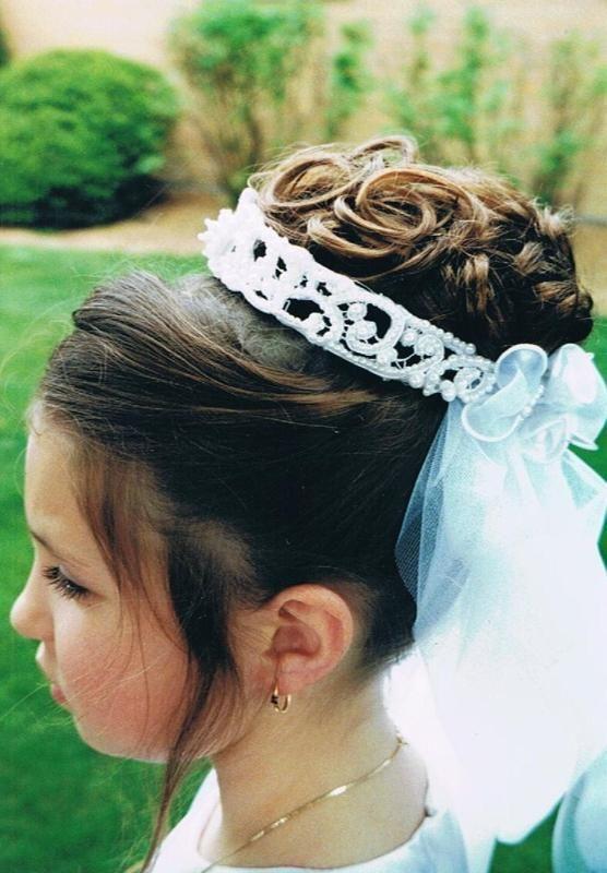 kristin-updo-communion-hairstyle | 16st communion | Pinterest ...