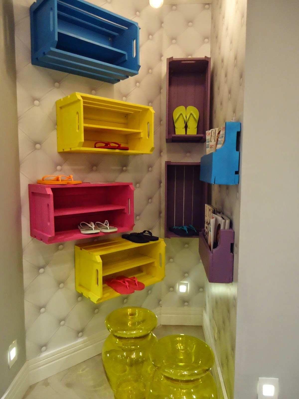Faire Un Meuble A Chaussure En Palette faire des meubles avec des palettes en bois : module de