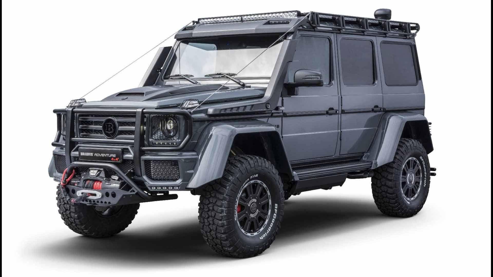 Brabus Adventure 4x4 4x4 Jeep Jeepneys Offroad Mercedes
