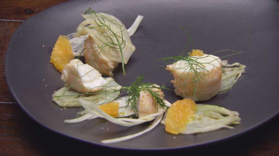 Lobster with Orange and Fennel