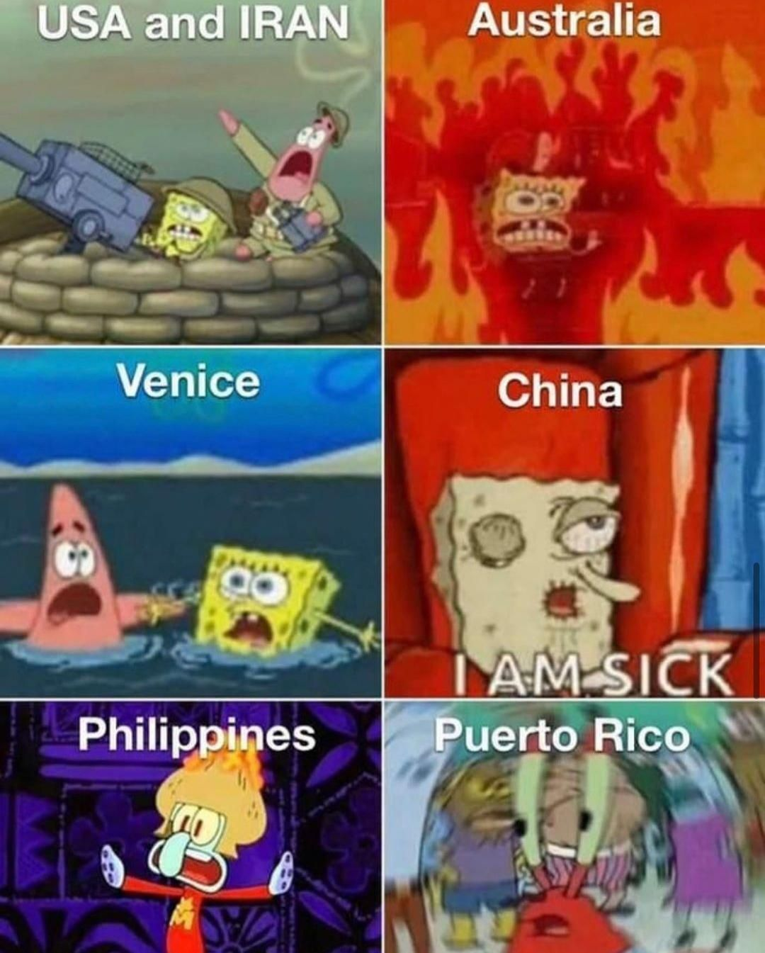 First Month Of 2020 Funny Spongebob Memes Funny Relatable Memes Funny Memes