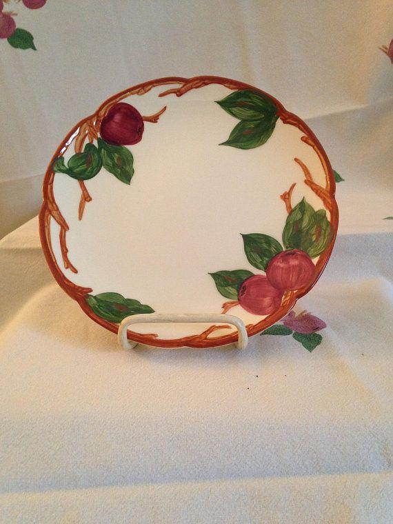dessert Vintage plates apple glass