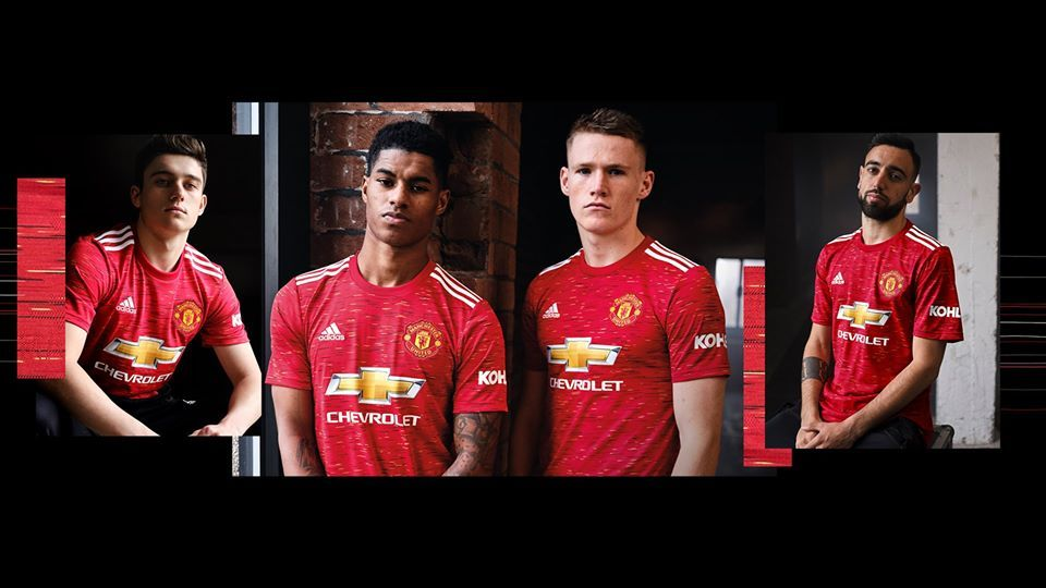 Manchester United 2020 21 Adidas Home Kit Football Fashion Org In 2020 Manchester United World Soccer Shop Manchester