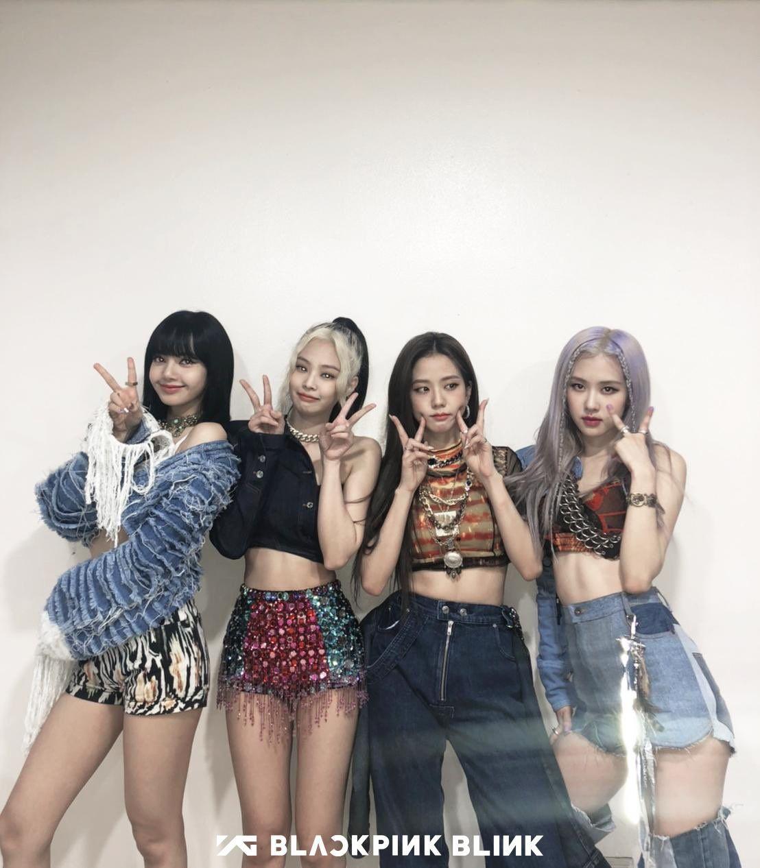 Https Blackpinkupdate Com Wp Content Uploads 2020 06 3 Blackpink How You Like That Sbs Inkigayo 28 June 2020 Jpeg In 2020 Blackpink Fashion Black Pink Women