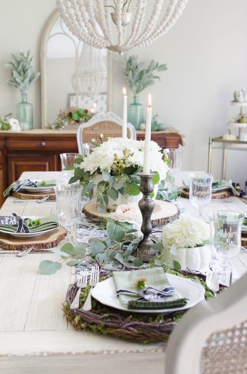 26++ Elegant green dining table wedding Best