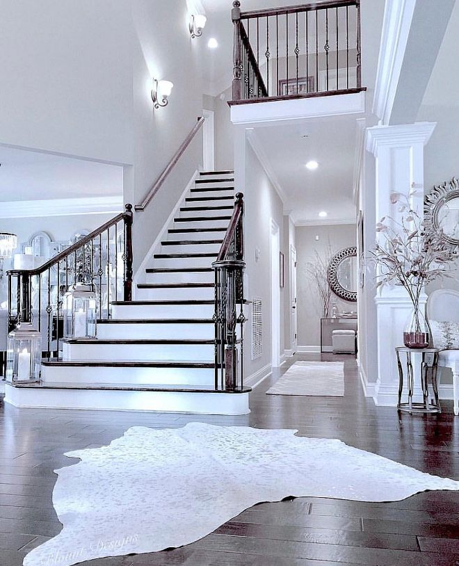 Decorating A Staircase Ideas Inspiration: Staircase Inspiration Foyer Opens To Grand Staircase