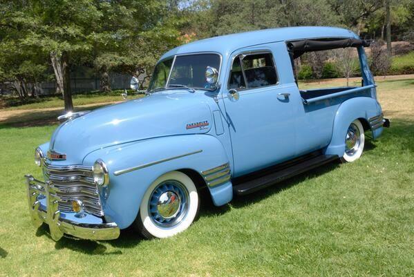 1951 Chevy Canopy Pickup Vintage Trucks Panel Truck Chevrolet