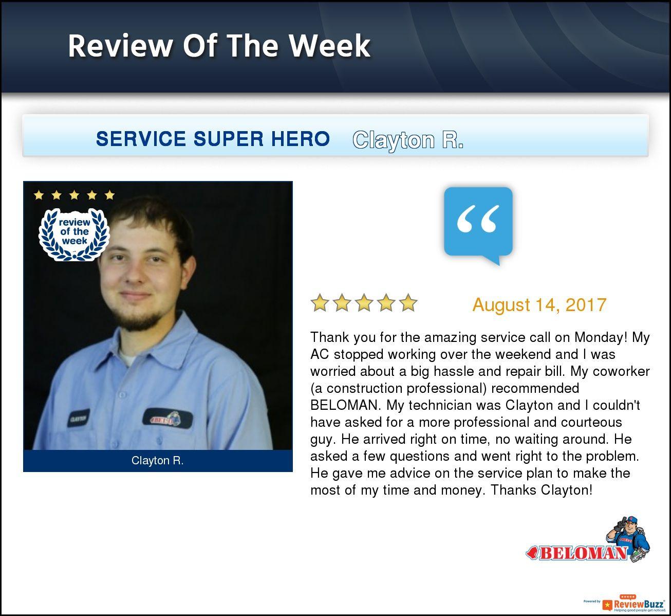 Review of the Week! TeamBELOMAN HappyCustomers