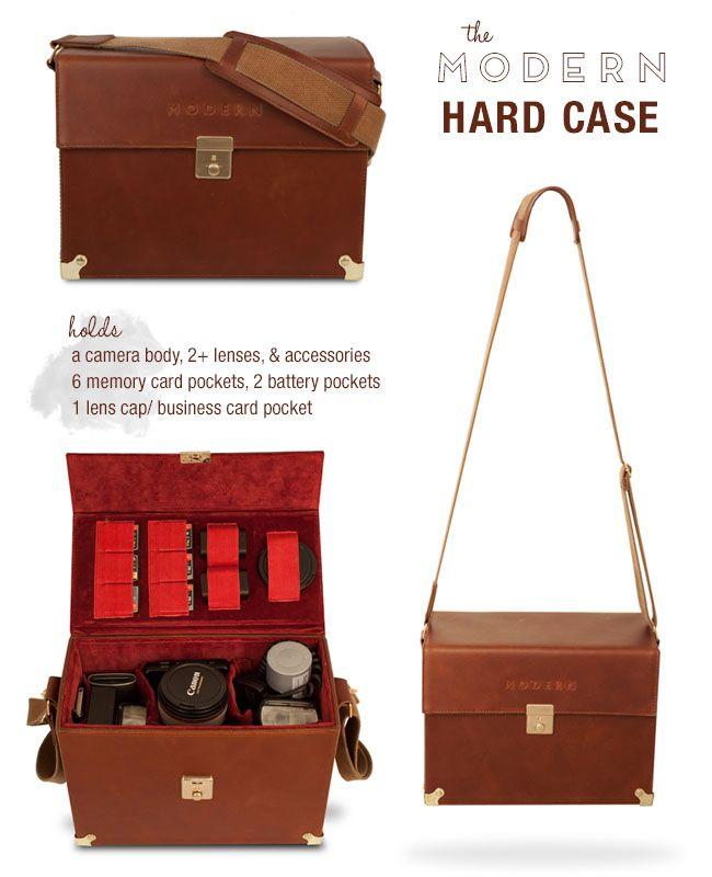 The Modern Hard Case Camera Bag from Drop It Modern | Vintage ...